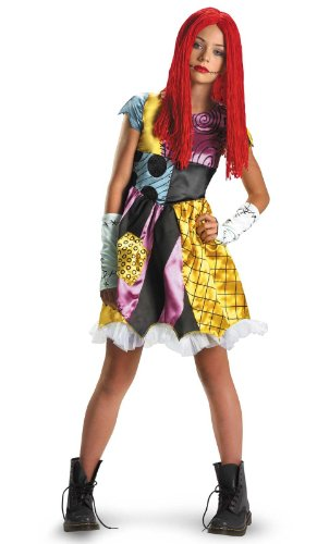 Disguise Costumes Sally Tween Costume, Medium 7/8 -