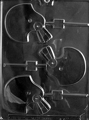 Cybrtrayd S063 Sports Chocolate Candy Mold, Football Helmet Lolly ()