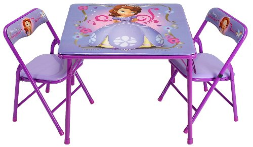 Disney Sofia The First Activity Table (Kids First Chair)