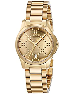 Swiss Quartz and Stainless-Steel Dress Gold-Toned Women's Watch(Model: YA126553)