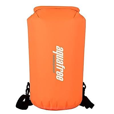 Aquafree Lightweight Waterproof Dry Bag with Shoulder Strap for Boating, Kayaking, Fishing, Beach, Swimming, Snowboarding