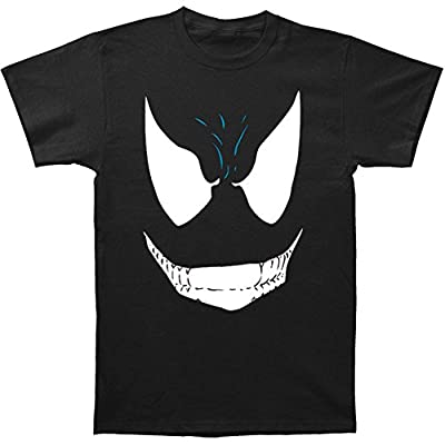 Marvel Comics Venom Face Fitted Mens Jersey Tee