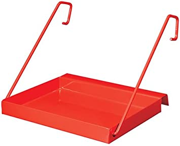 Hailo 9951-001 - Bandeja portaherramientas de acero para colgar en escalera: Amazon.es: Bricolaje y herramientas