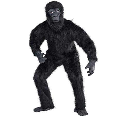 Amscan Gorilla Halloween Costume for Adults, Standard, with Included Accessories for $<!--$58.96-->