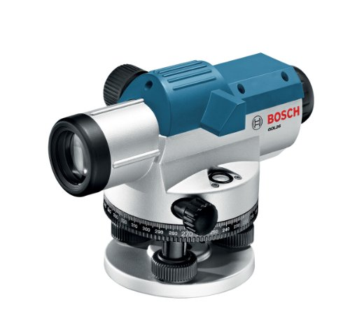 (Bosch 26x Optical Level Kit with Tripod and Rod GOL26CK)