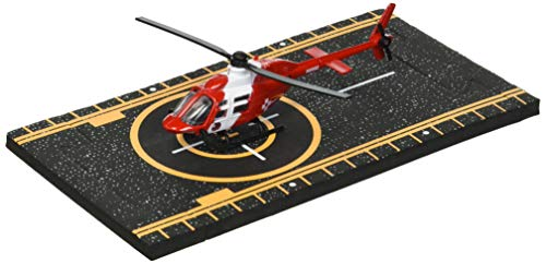 Hot Wings Bell 206 Jet Ranger (Life Flight) with Connectible Runway ()