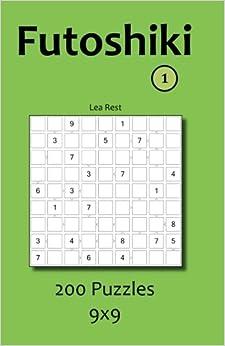 Book Futoshiki 1: 200 Puzzles 9x9