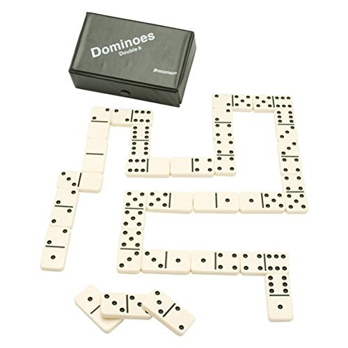 Pressman Toy Double Six Urea Tournament Dominoes Double Six Dominoes Rules