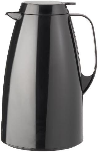Emsa Basic Jarra Térmica, Plástico, Negro, 1.5 L, 1 Unidad