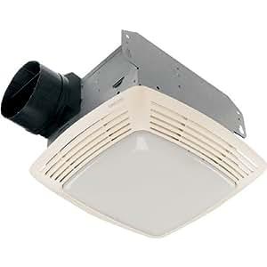 Broan Deluxe Bathroon Exhaust Fan Light 2 5 Sone 80