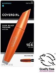 COVERGIRL LashBlast Volume Waterproof Mascara, 1 Tube (0.44 oz), Very Black Color, Volumizing Waterproof Mascara, Hypoallergenic (PACKAGING MAY VARY)