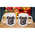 Happy American Staffordshire Terrier Mug – Staffie Ceramic Coffee Mug - Perfect Staffordshire Bull Terrier Gifts - Funny Cute Staffordshire Terrier Dog Coffee Mug for Dog Lovers and Owners (11oz) 14