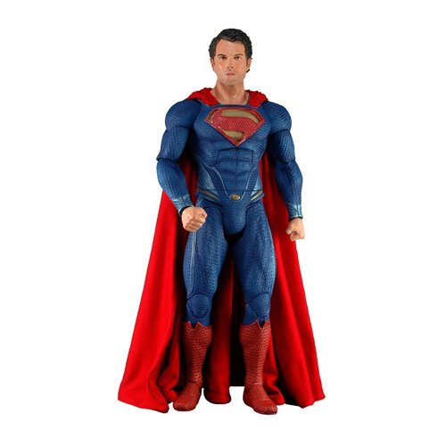 NECA Superman Man of Steel Action Figure, 1/4 Scale