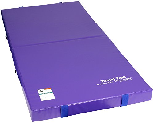 Tumbl Trak Jr. Practice Mat Gymnastics Crash Pad, Purple
