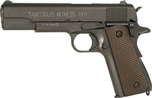 Tanfoglio Witness 1911 Full Metal C02 Blowback Air - Bb Gun Blowback 1911
