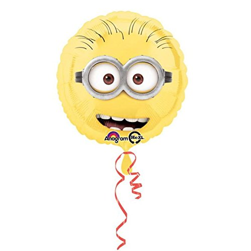 Anagram International HX Despicable Me Party Balloons, Multicolor