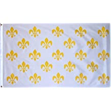 3x5 Fleur De Lis White Flag Brand New 3 x 5 Banner