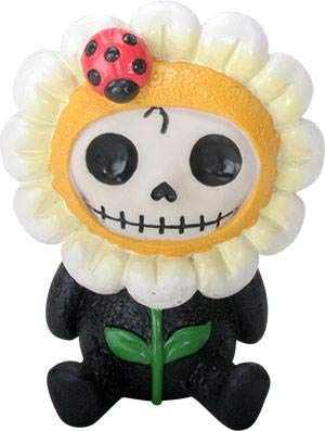SUMMIT COLLECTION Furrybones Daisy Signature Skeleton in Flower Costume with a Ladybug ()
