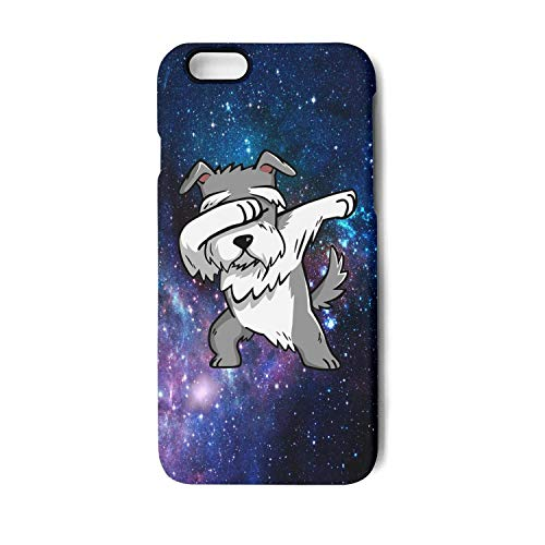 BoDu iPhone 6 case iPhone 6s Case Cute Dabbing Schnauzer Dog TPU Protective Shockproof for iPhone 6/6s