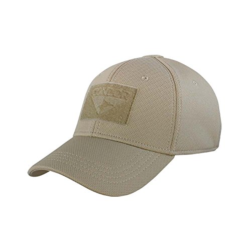 Condor Outdoor Flex-Fit Tactical Cap Tan L/XL (Condor Outdoor Tactical)
