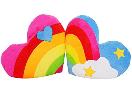 Coxeer Pillows Rainbow Pillow Cushion