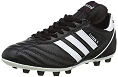 The adidas Kaiser 5 Liga Firm Ground football boot has a real classic professional look and style. With it's traditional centre lacing and narrow glove like fit, this adidas football boot is a must have. A full grain leather upper, stitched t...