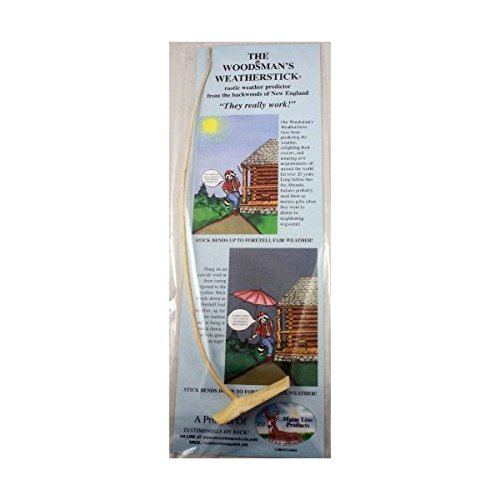 Weather Forecasting Woodsman's Weatherstick (Weather Stick Maine)