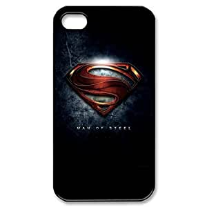 SUUE Superman Custom Hard Case for iPhone 4 4s Durable Case Cover