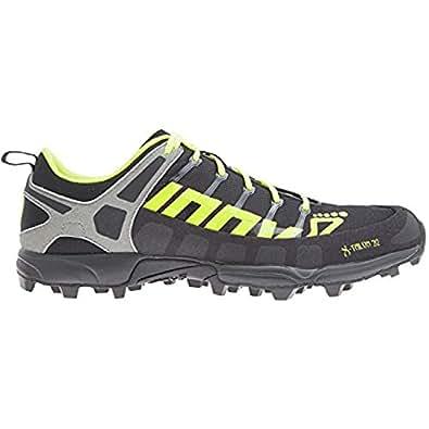 Inov8 Unisex X-Talon 212 Trail Running Black/Neon Yellow/Grey M4 W5.5 & Visor