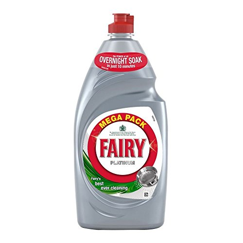 Fairy Platinum Washing Up Liquid Original (870ml) - Pack of 6 by Fairy