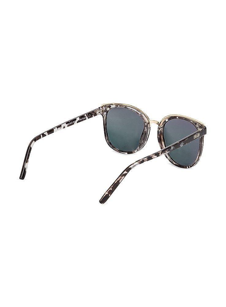 07de7730cc8 KOALA BAY - Gafas de Sol Hermosa Gris Carey Brillo  Amazon.es  Ropa y  accesorios