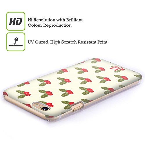 Head Case Designs Agrifoglio Natale Retro Cover Retro Rigida per Apple iPhone 7 Plus / 8 Plus