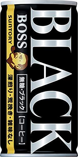 [일본 산토리 보스 캔커피 / SUNTORY BOSS COFFEE] 산토리 커피 보스 무당블랙 185g×30개
