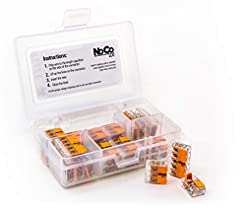WAGO LEVER-NUTS 32pc Compact Splicing Co...