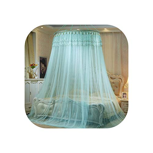 Commonly Used Hung Dome Princess Mosquito Net Insect Bed Canopy Netting Lace Round Mosquito Nets,8