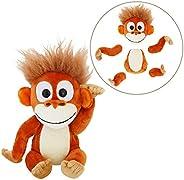 Animoodles Magnetic Randy Orangutan Stuffed Animal Plush, 7.5&