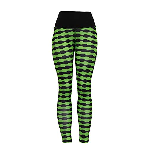 OYSOHE Damen Yoga Leggings, Hohe Taillen Fitness die Ausdehnungs Laufen Sport Hosen Grün