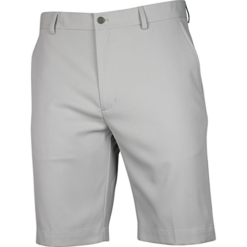 Greg Norman Mens Classic Profit Flat Front Shorts Cream 34