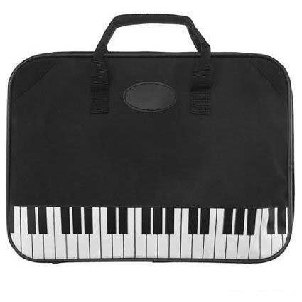 Piano Briefcase Gift for Piano Player or Piano Student / Teacher