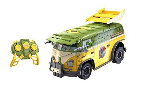 Toy State Teenage Mutant Ninja Turtles RC Party Van Radio Control Vehicle (1:16 Scale) (Teenage Mutant Ninja Turtles Van)