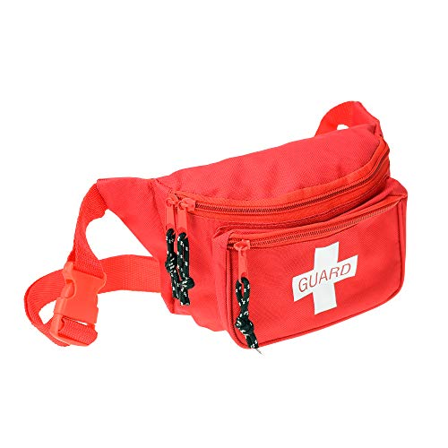 Dealmed Lifeguard Fanny Pack with Logo, E-Z Zipper
