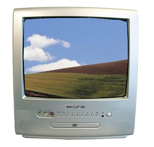 tv and dvd combo. akura aodv151r-s - 14\ tv and dvd combo