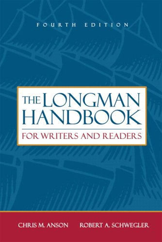 Longman Handbook for Writers and Readers (with MyCompLab), The (4th Edition) (MyCompLab Series)