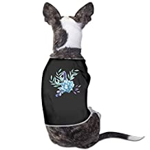 Floral Shirt Dog Anxiety Calming Wrap M Black