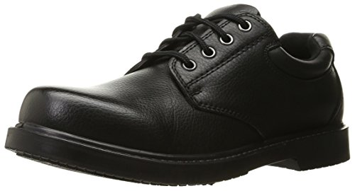 Dr. Scholl's Shoes Men's Dave Uniform Dress Shoe, Black, 12 W US by Dr. Scholl's Shoes