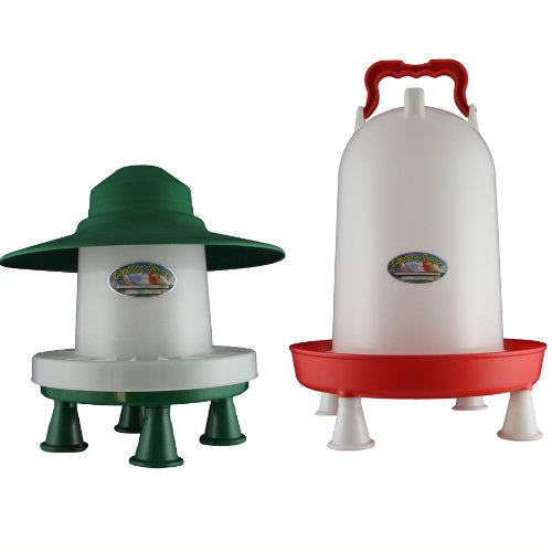 3kg Ascot With Legs and 12 Litre Combination Drinker With Legs Set Country Fayre (UK) Ltd PW03-0031