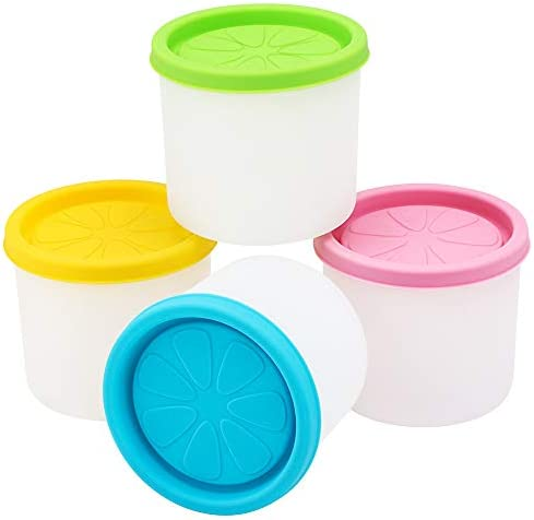 Silicone Containers Beasea Freezer Reusable