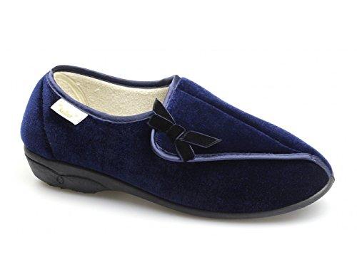 Cosies - Zapatillas de estar por casa para niña azul marino