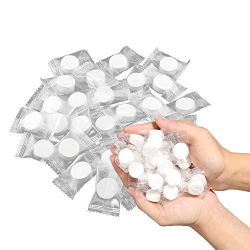 KISEER 200 Pieces Mini Compressed Towels Portable
