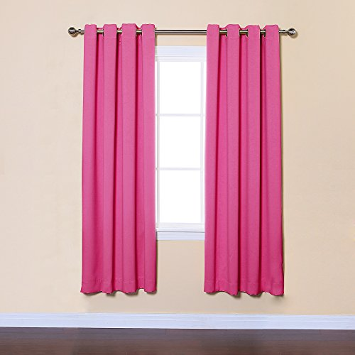 Blackout Curtains blackout curtains 90×90 : Curtains 90x90 eyelet pink - StoreIadore